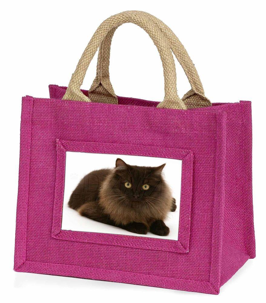 Le Prix Le Moins Cher Chocolate Black Cat Little Girls Small Pink Shopping Bag Christmas Gi, Ac-123bmp Amener Plus De Commodité Aux Gens Dans Leur Vie Quotidienne