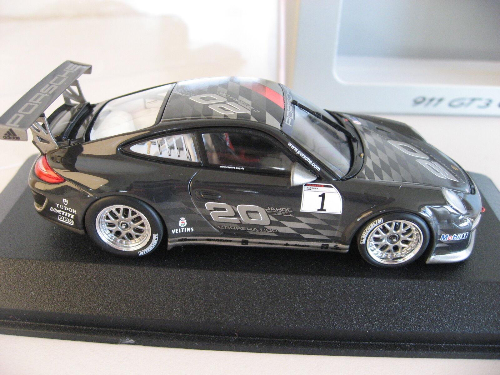 autorizzazione Porsche 997 997 997 911 GT3 Cup 20 Jahre Years autorera Cup Minichamps Presentation auto  miglior reputazione