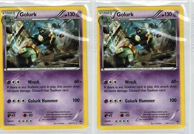 POKÉMON GOLURK 43//111 RARE NM CARD  FURIOUS FISTS