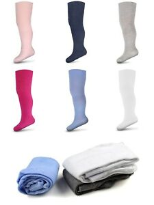 3-Pairs-Baby-Girls-Boys-Tights-Plain-Cotton-Babies-Newborn-Toddler-68-80-92-104