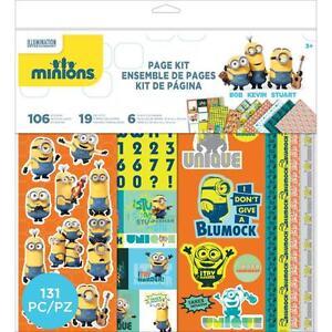 EK-SUCCESS-MINIONS-12x12-034-Paper-Pad-or-Scrapbook-Page-Kit