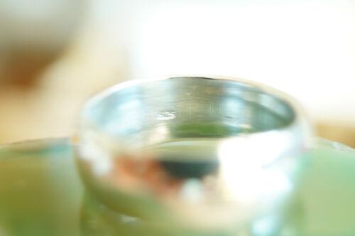 7 mm Massiv Silberring 52 rund Silber Ring Bandring Schlicht Ehering glanz matt