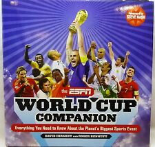 ESPN World Cup Companion-2010 Hardcover Book-1st Edition-History of World Cup