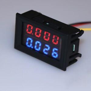 0-28-inch-Digital-DC-4-Bit-DC-100V-10A-Voltmeter-Ammeter-Voltage-Current-Meter