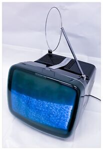 TV-Television-Vintage-Brionvega-Algol-2-B-N-12-Inch-1975-Blue-Working