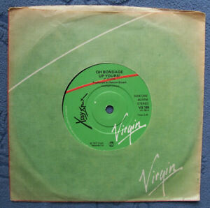 Xray Spex...Oh Bondage Up Yours!...Lora Logic British Punk Mint 45 rpm '77