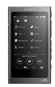 Sony NW-A35 Walkman® with High-Resolution Audio (Charcoal Black)