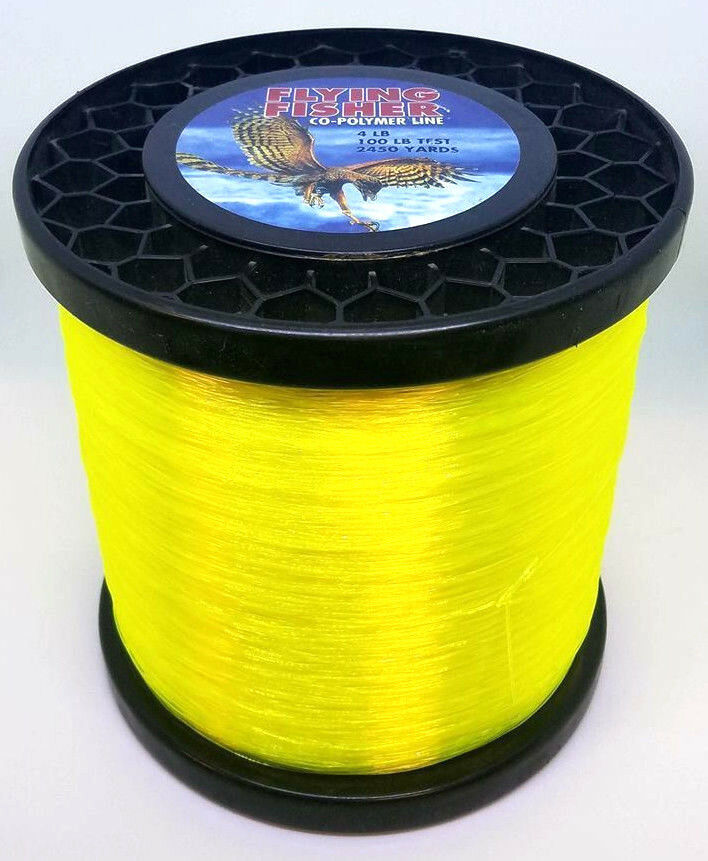 FLYING FISHER COPOLYMER pesca LINE  100LB2450YDS HIVIS gituttio