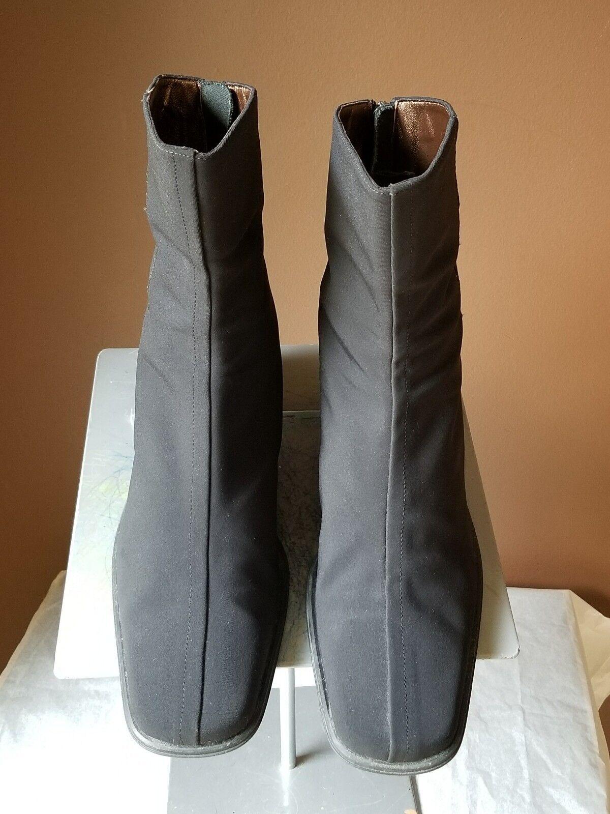 Aquatalia    schwarz quarter Stiefel, Größe 8 97cc6e