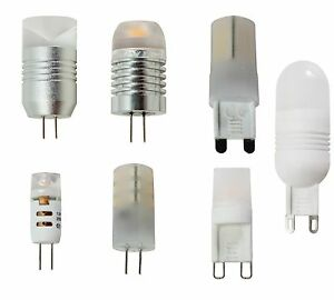 Lampadine led g9 220v ac o g4 12v dc da 1 5w a 3w ebay for Lampadine g9 led