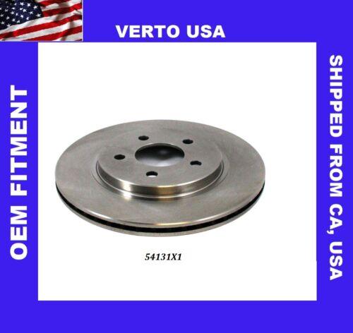 Verto USA   fits 05-14 Ford Mustang   54131X1 Rear Disc Brake Rotor