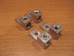 Lot-4-Ilsco-Single-Lug-2-0-Copper-Aluminum-Terminal-Mechanical-Screw-Box-Al-Cu