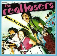 "REAL LOSERS ""MUSIC FOR FUNSTERS"" CD 2005 TRICK KNEE PUNK GARAGE EX / MINT"