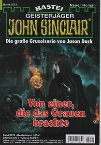 JOHN-SINCLAIR-ROMAN-Nr-2072-Von-einer-die-das-Grauen-brachte-Jason-Dark