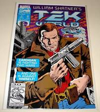 William Shatner's TEK WORLD # 1  Marvel Comic   Sept 1992  VFN/NM