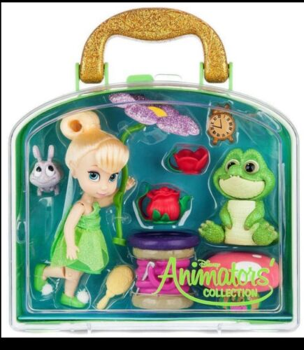 Brand New Genuine Disney Tinkerbell Animator Doll Playset