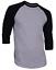 Raglan-Men-039-s-Casual-Baseball-T-Shirt-3-4-Sleeve-Plain-Jersey-Tee-S-2XL thumbnail 9