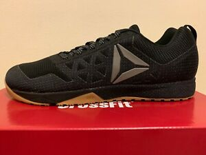 Details about Reebok CrossFit Nano 6.0 COVERT Men's Training Shoes BlackGumWhite (BS5107)