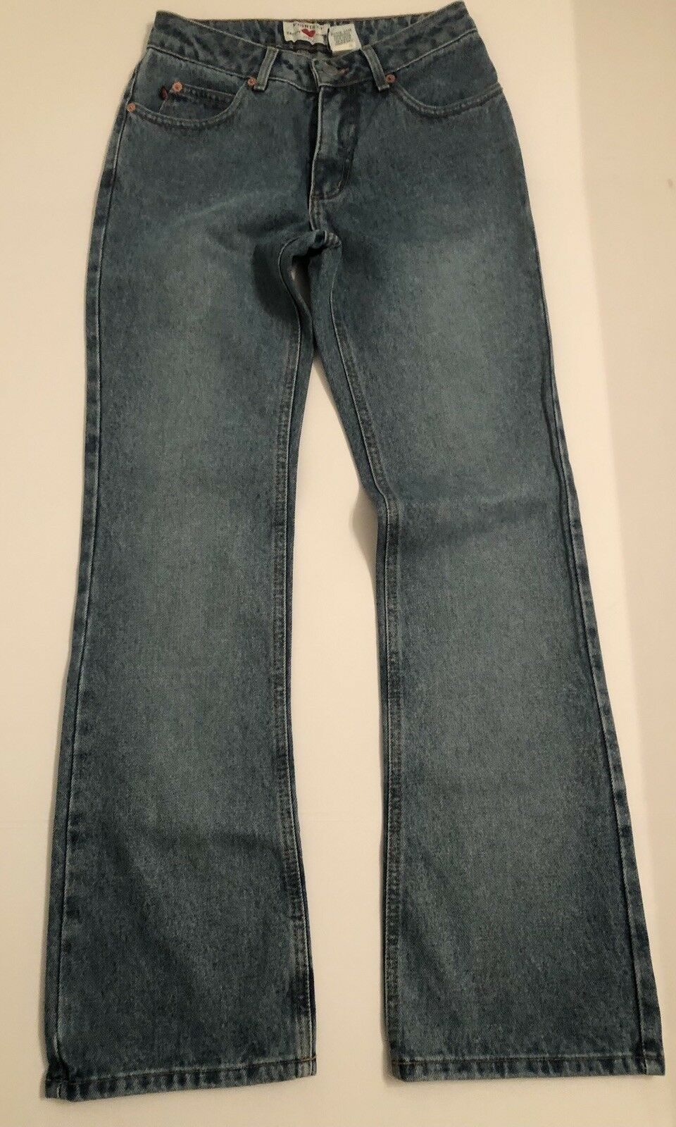 Fiorucci Women's Jeans Vintage Size 3 Waist 25  Inseam 29.5  New with Tag