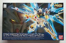 BANDAI RG 1/144 Strike Freedom GUNDAM clear color ver event limited model kit
