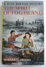 Judy Bolton #22 The SPIRIT OF FOG ISLAND Margaret Sutton Green PC