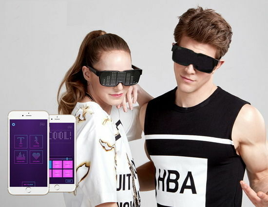 Chemion 2 2 2 Smart Sunglasses Party Club Blautooth Sports LED New noo 0a59fa