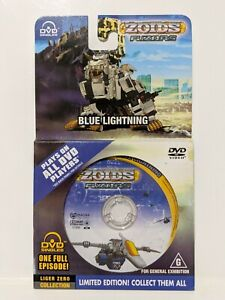 Zoids-Fuzors-Blue-Lightning-Liger-Zero-Collection-Limited-Edition-Mini-DVD-PAL