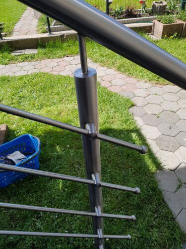 VA Edelstahl Vollkugel 30mm Sackloch 10,2mm für Geländer Inox Kugel