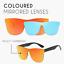 Infinity-Fashion-Colored-Sunglasses-Mirror-UV400-Polarized-Vintage-Square-Glasse miniature 3