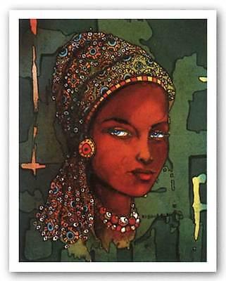 AFRICAN AMERICAN ART PRINT Nalumu Limited Edition David Kibuuka