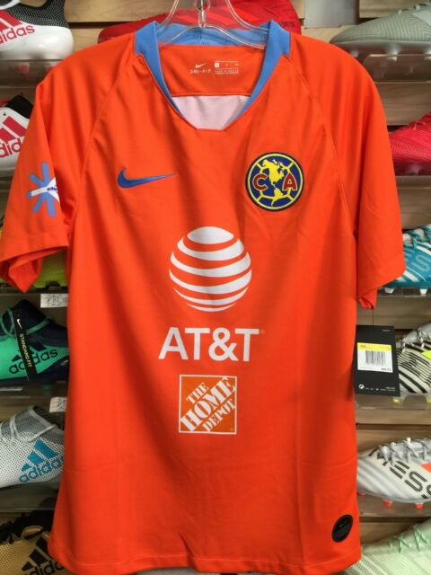 quality design 3eeac fb6a1 Nike Club America Third Jersey 2019 Orange Sky Size EXTRALARGE Only