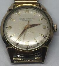 Vintage Men's Girard Perregaux Gyromatic 10k Gold Filled Working Wrist Watch