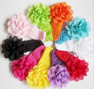 10pcs-Kids-Girl-Baby-Toddler-Lace-Flower-Headband-Hair-Band-Accessories-Headwear