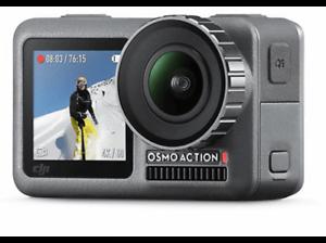 Cámara deportiva 4K DJI Osmo Action, Sensor CMOS 12 MP, ISO 100-3200, Wi-Fi
