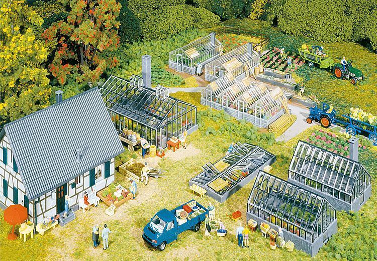 Faller 130253 h0 giardinaggio e vivai NUOVO OVP,