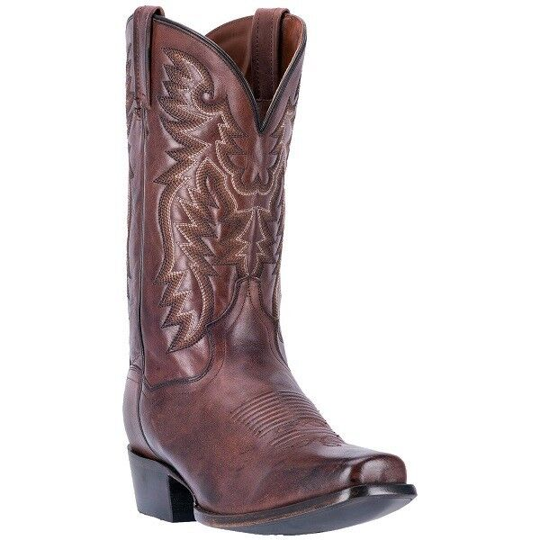 Dan Post Boots Men's Centennial Square Toe Cowboy Boot DP2154 Chocolate
