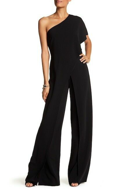 739 Issue New York One-Shoulder Wide Leg Jumpsuit