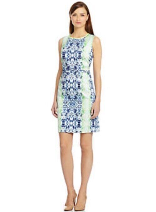 NWT T Tahari Malone Mosaic Dress size 8