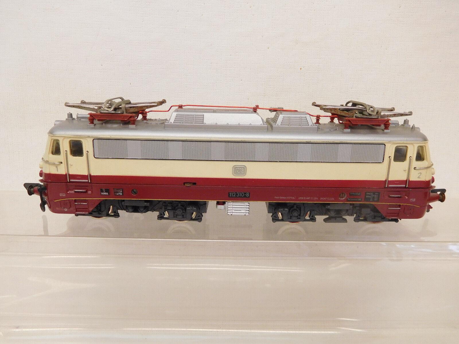 Esf-04688 FLEICHMANN h0 E-Lok DB 112310-8, funzione testato
