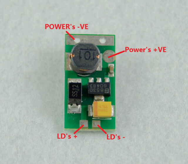 405nm Laser Diode Driver for 20mW-200mW/3V-5.5V CC Circuit