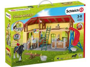 Schleich granja World 42485-cuadra-nuevo embalaje original
