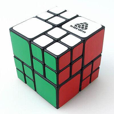 Rare WitEden Black 4X4X4 AI Bandage Camouflage Magic Cube Twist Puzzle
