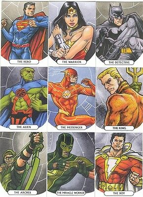 2016 Cryptozoic DC Comics Justice League Common Card Set Of 63 Cards w//wrapper!