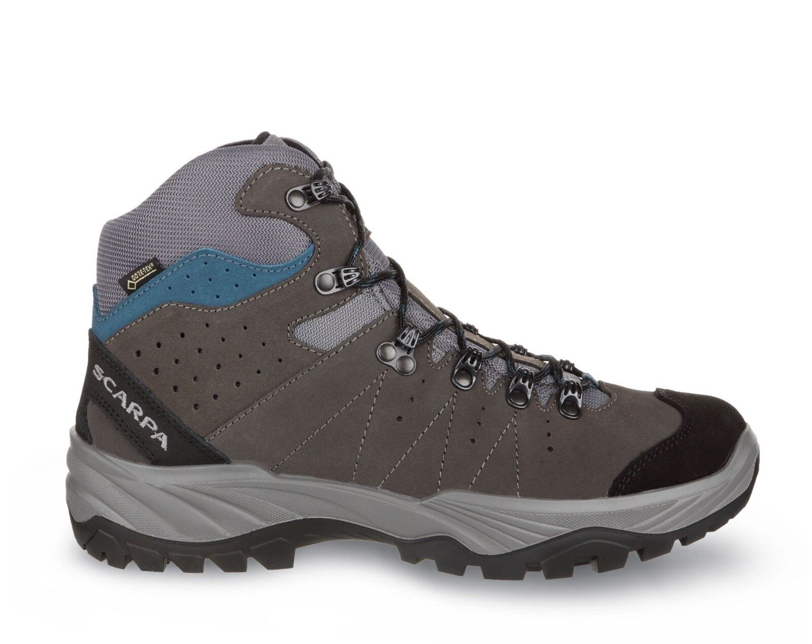 Scarpa Mistral GTX 30026/200 Hiking Smoke/Lake Gore-Tex Vibram Energy II Hiking 30026/200 Stivali 0bfc0b