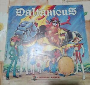 Album figurine Daltanious Panini1981 Raro completo ottimo compra o PROPOSTA