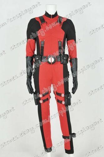 Deadpool Cosplay Wade Costume Jumpsuit Best For Party Comfortable Cotton Version