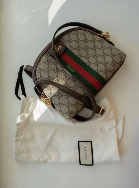Crossbody, Gucci, læderlook, Ophidia Gucci cross-over taske…