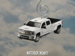 High Country Truck >> Details About 18 Chevy Silverado 3500hd Crew Cab Pickup Truck Christmas Ornament High Country