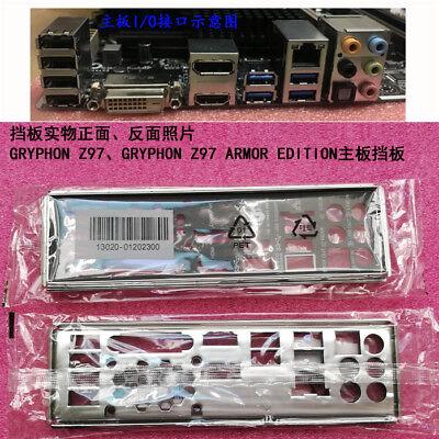 Original IO I//O Shield Back Plate BackPlate Blende Bracket for ASUS GRYPHON Z87