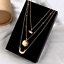 Boho-Women-Multi-layer-Long-Gold-Chain-Necklace-Crystal-Pearl-Pendant-Choker-NEW thumbnail 109